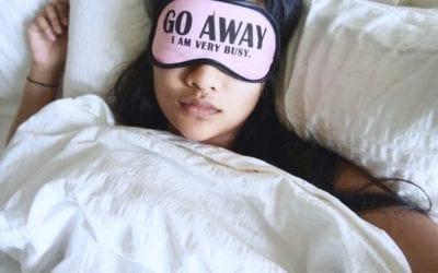 Sleep is universal, when we sleep is personal